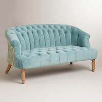 Cloud Blue Abigail Loveseat