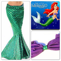 MERMAID PRINCESS- Adult Mermaid Tail/ Mermaid Costume