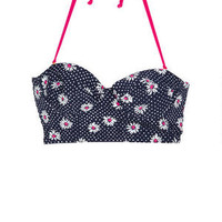 Daisy Fruit Gingham Midkini