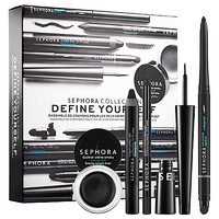 SEPHORA COLLECTION Define Yourself Black Eyeliner Set