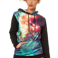 The Sub Body Hoody in Space Weed