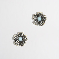 Factory crystal petal stud earrings - Earrings - FactoryWomen's Jewelry - J.Crew Factory