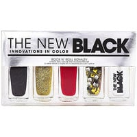 Rock' N 'Roll Royalty 5Pc Nail Color & Accessories Set