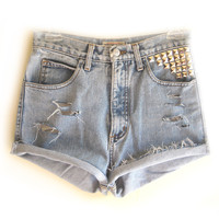 STUDLY (LIGHT/MED WASH) from GET HIGH WAISTED