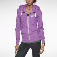 The Nike Gym Vintage Full-Zip Women's Hoodie.