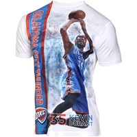 Levelwear Kevin Durant Oklahoma City Thunder Breakaway Performance T-Shirt - White