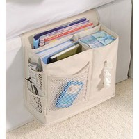 Amazon.com: Bedside Caddy - Sand: Home &amp; Kitchen