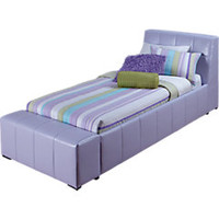 Zoey Lavender 3 Pc Twin Bed
