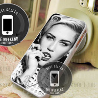 Miley Cyrus Hot Pose - iPhone 4/4s/5/5S/5C Case - Samsung Galaxy S2/S3/S4 Case - Black or White