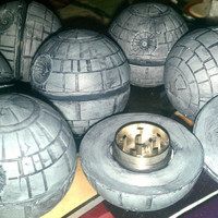 Star Warz Death S. Tar Grinder for herbs Valentines day gift idea