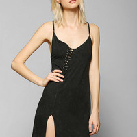 Kill City Lace-Up Neckline Tank Dress - Urban Outfitters