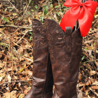 Cowgirl Casanova Boots: Dark Brown