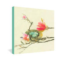 Hadley Hutton Magnolia Nest Gallery Wrapped Canvas