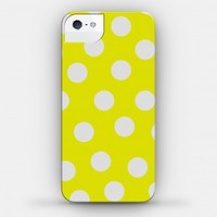 Yellow Polka Dot Case