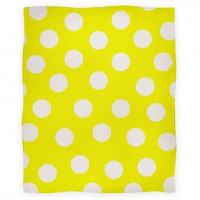 Yellow Polka Dot Blanket