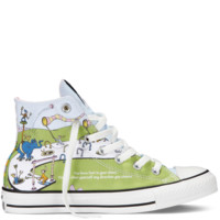 Converse - Chuck Taylor All Star Dr Seuss - Hi - White / Green