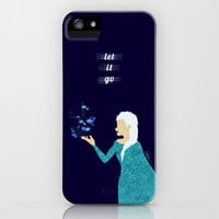 Frozen // Let It Go - Elsa the Snow Queen iPhone & iPod Case by Lukas Emory