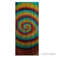Tie Dye Swirl Bamboo Door Beads on Sale for $39.99 at HippieShop.com