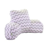 Printed Reading Pillow - Zoom Zoom - Pink/Gray