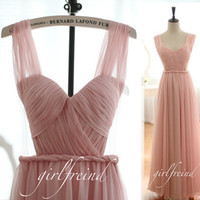 Sweetheart elegant floor-length chiffon Prom Dresses / Evening Dress