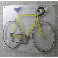 bicycle yellow acrylic print