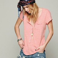 Free People Womens Ex Boyfriend Tee -