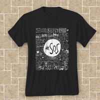 5 Seconds of Summer SOS black t shirt