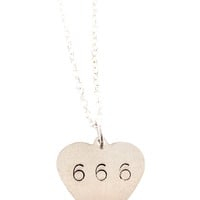 Sweet 666 Necklace