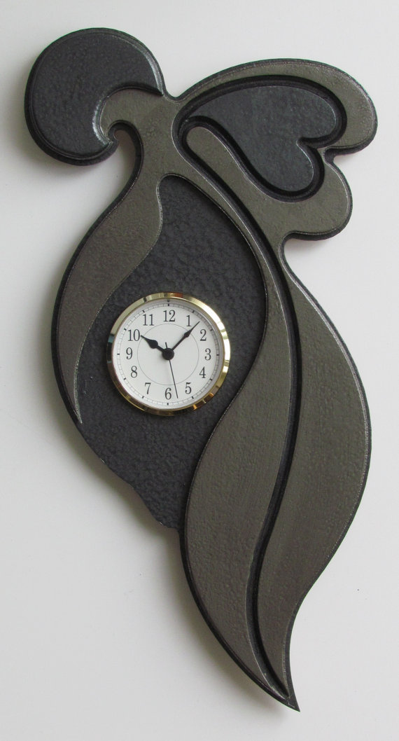 Unique Modern Art Sculpture Wall Clock By From