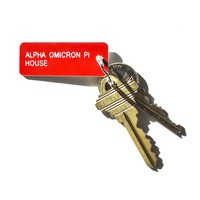 The Sorority House Key Tag - Alpha Omicron Pi