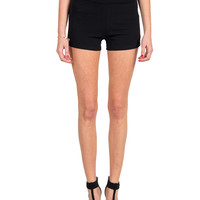 High Rise Elastic Shorts