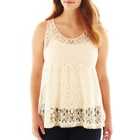 Arizona Tiered Lace Tank Top