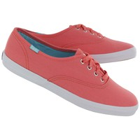Keds Women's CHAMPION coral canvas CVO sneakers WF46618