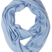 Brighten Up Circle Scarf in Periwinkle | Mod Retro Vintage Scarves | ModCloth.com