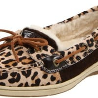 Sperry Top-Sider Women's Angelfish Lace-Up,Leopard Pony,9.5 M US
