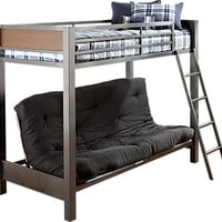 Louie Twin Futon Loft Bed