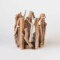 Point Reyes Driftwood Votive - Small