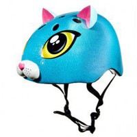 Helmets--Raskullz Cutie Cat ? Blue