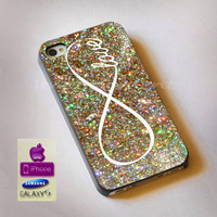 infinity glitter, iphone case, case, samsung case, Galaxy Case, ipod case, iphone 4, iphone 5, s3, s4, htc case