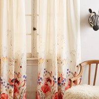 Honeybee Blooms Curtain