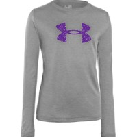 Under Armour Girls' UA Tech Big Logo Long Sleeve Shirt