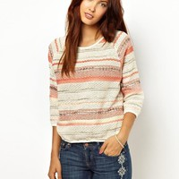 Sessun Special Knitted Jumper in Knitted Multi Yarn