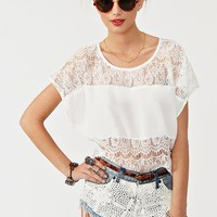 Sweet Lace Tee in Clothes Tops Tees at Nasty Gal