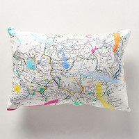 Cartography Pillow