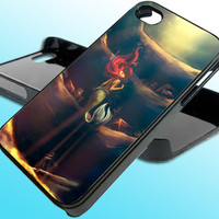 Little Mermaid for iPhone 4/4s Case - iPhone 5 Case - Samsung S3 - Samsung S4 - Black - White (Option Please)