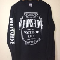 Long Sleeve-Moonshine Water of Life Shirt