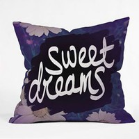 DENY DESIGNS Sweet Dreams Throw Pillow