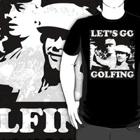 Vintage Distressed 'Let's Go Golfing' Caddyshack-Inspired T-Shirt