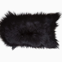 Totokaelo - Black Sheep (white light) Icelandic Sheepskin 58 - $220.00