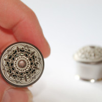 Creamy Bronze Boho Plugs, gauges 9/16, 5/8, 3/4, 7/8